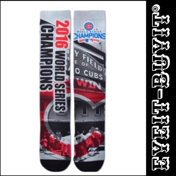 55c79fc0b For Bare Feet MLB Chicago Cubs Champions Socks